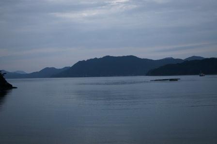明け方の海.JPG